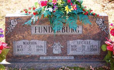 FUNDERBURG, LUCILLE - Grant County, Arkansas | LUCILLE FUNDERBURG - Arkansas Gravestone Photos