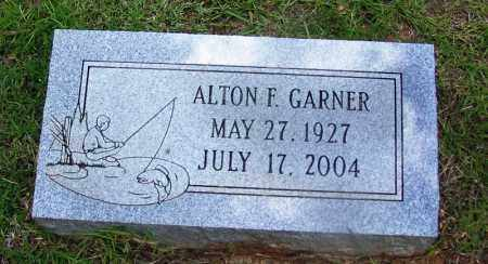 GARNER, ALTON F - Grant County, Arkansas | ALTON F GARNER - Arkansas Gravestone Photos