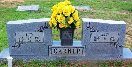 GARNER, ANDY - Grant County, Arkansas | ANDY GARNER - Arkansas Gravestone Photos