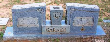 GARNER, ALVA E - Grant County, Arkansas | ALVA E GARNER - Arkansas Gravestone Photos