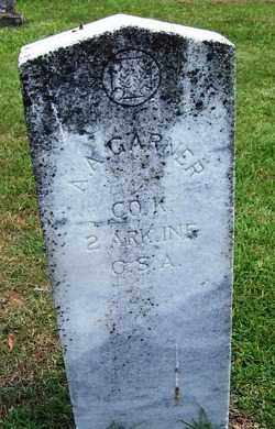 GARNER (VETERAN CSA), A A - Grant County, Arkansas | A A GARNER (VETERAN CSA) - Arkansas Gravestone Photos