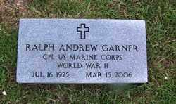 GARNER (VETERAN WWII), RALPH ANDREW - Grant County, Arkansas | RALPH ANDREW GARNER (VETERAN WWII) - Arkansas Gravestone Photos