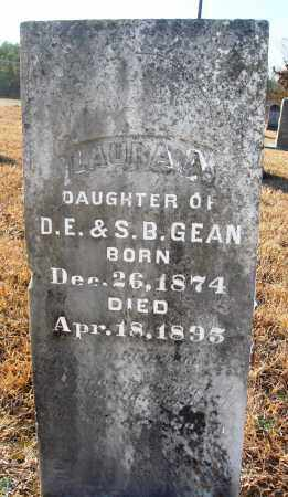GEAN, LAURA A. - Grant County, Arkansas | LAURA A. GEAN - Arkansas Gravestone Photos