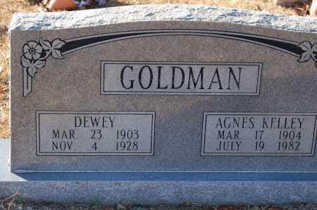 GOLDMAN, DEWEY - Grant County, Arkansas | DEWEY GOLDMAN - Arkansas Gravestone Photos