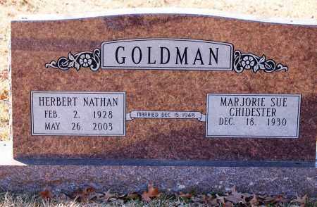 GOLDMAN, HERBERT NATHAN - Grant County, Arkansas | HERBERT NATHAN GOLDMAN - Arkansas Gravestone Photos