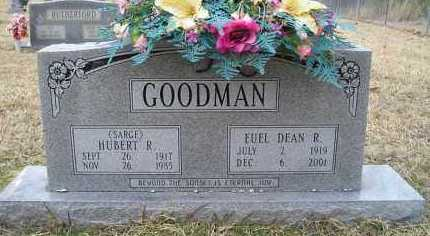 GOODMAN, EUEL DEAN R. - Grant County, Arkansas | EUEL DEAN R. GOODMAN - Arkansas Gravestone Photos