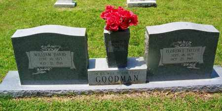 GOODMAN, WILLIAM DAVID - Grant County, Arkansas | WILLIAM DAVID GOODMAN - Arkansas Gravestone Photos