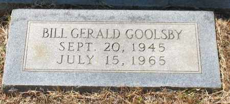 GOOLSBY, BILL GERALD - Grant County, Arkansas | BILL GERALD GOOLSBY - Arkansas Gravestone Photos