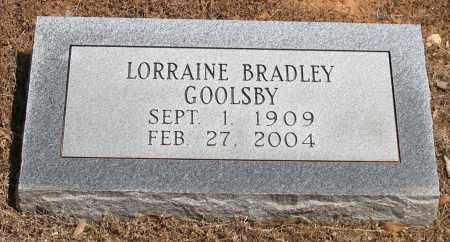 GOOLSBY, LORRAINE - Grant County, Arkansas | LORRAINE GOOLSBY - Arkansas Gravestone Photos