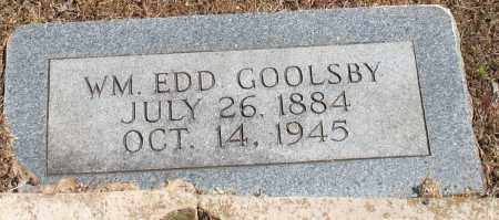 GOOLSBY, WILLIAM EDD - Grant County, Arkansas | WILLIAM EDD GOOLSBY - Arkansas Gravestone Photos