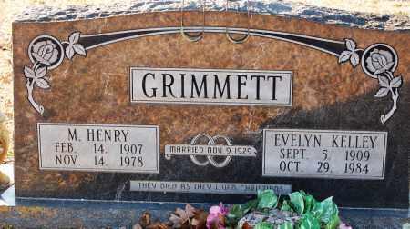 KELLEY GRIMMETT, EVELYN - Grant County, Arkansas | EVELYN KELLEY GRIMMETT - Arkansas Gravestone Photos