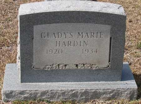 HARDIN, GLADYS MARIE - Grant County, Arkansas | GLADYS MARIE HARDIN - Arkansas Gravestone Photos