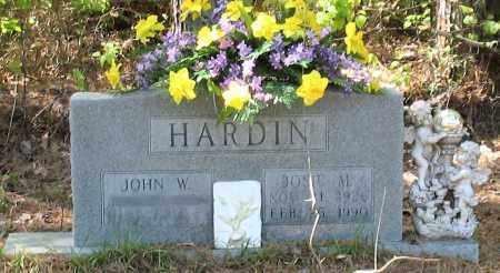 HARDIN, JOSIE M - Grant County, Arkansas | JOSIE M HARDIN - Arkansas Gravestone Photos