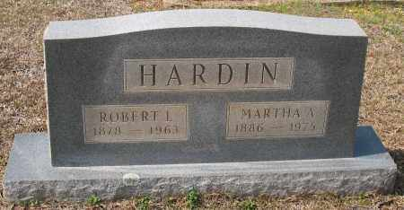 CRUTCHFIELD HARDIN, MARTHA A - Grant County, Arkansas | MARTHA A CRUTCHFIELD HARDIN - Arkansas Gravestone Photos