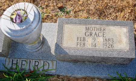 HEIRD, GRACE - Grant County, Arkansas | GRACE HEIRD - Arkansas Gravestone Photos