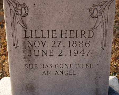 HEIRD, LILLIE - Grant County, Arkansas | LILLIE HEIRD - Arkansas Gravestone Photos