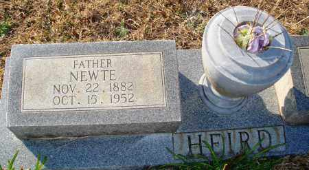 HEIRD, NEWTE - Grant County, Arkansas | NEWTE HEIRD - Arkansas Gravestone Photos