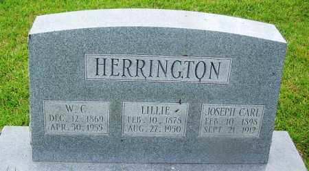 HERRINGTON, LILLIE - Grant County, Arkansas | LILLIE HERRINGTON - Arkansas Gravestone Photos