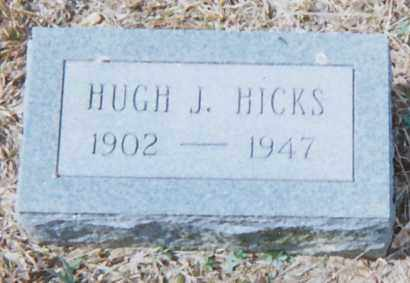 HICKS, HUGH J - Grant County, Arkansas | HUGH J HICKS - Arkansas Gravestone Photos