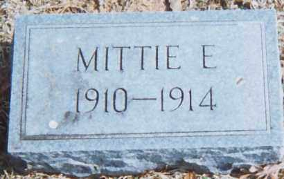 HICKS, MITTIE E. (IMOGENE) - Grant County, Arkansas | MITTIE E. (IMOGENE) HICKS - Arkansas Gravestone Photos