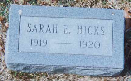 HICKS, SARAH L. - Grant County, Arkansas | SARAH L. HICKS - Arkansas Gravestone Photos