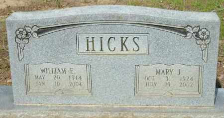 HICKS, WILLIAM E - Grant County, Arkansas | WILLIAM E HICKS - Arkansas Gravestone Photos