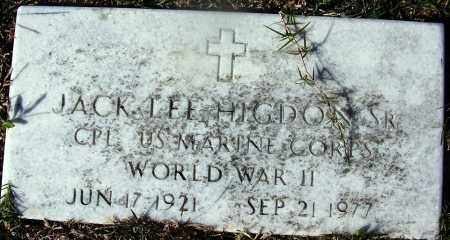 HIGDON (VETERAN WWII), JACK LEE - Grant County, Arkansas | JACK LEE HIGDON (VETERAN WWII) - Arkansas Gravestone Photos