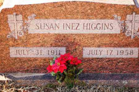 HIGGINS, SUSAN INEZ - Grant County, Arkansas | SUSAN INEZ HIGGINS - Arkansas Gravestone Photos