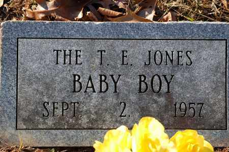 JONES, BABY BOY - Grant County, Arkansas | BABY BOY JONES - Arkansas Gravestone Photos