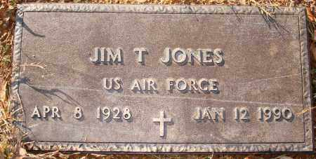 JONES (VETERAN), JIM T - Grant County, Arkansas | JIM T JONES (VETERAN) - Arkansas Gravestone Photos