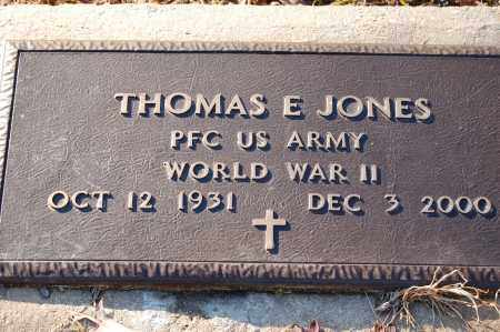 JONES (VETERAN WWII), THOMAS E - Grant County, Arkansas | THOMAS E JONES (VETERAN WWII) - Arkansas Gravestone Photos