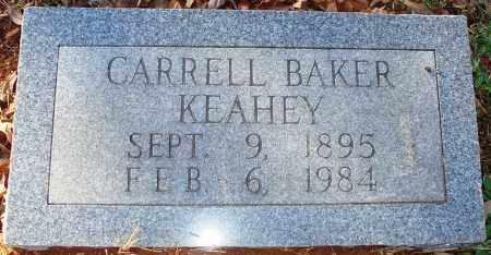 KEAHEY, CARRELL BAKER - Grant County, Arkansas | CARRELL BAKER KEAHEY - Arkansas Gravestone Photos