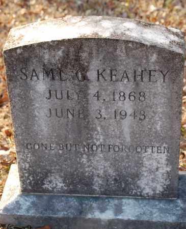 KEAHEY, SAMUEL G - Grant County, Arkansas | SAMUEL G KEAHEY - Arkansas Gravestone Photos