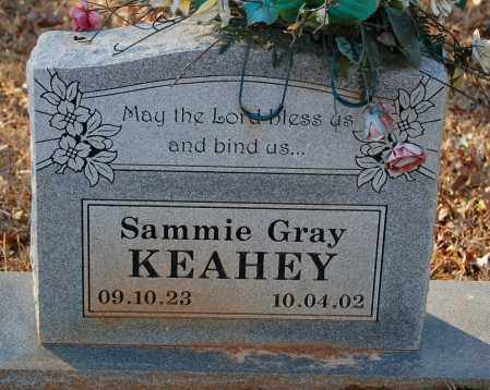 KEAHEY, SAMMIE GRAY - Grant County, Arkansas | SAMMIE GRAY KEAHEY - Arkansas Gravestone Photos