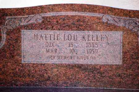 KELLEY, HATTIE LOU - Grant County, Arkansas | HATTIE LOU KELLEY - Arkansas Gravestone Photos