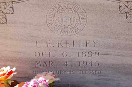 KELLEY, L. E. - Grant County, Arkansas | L. E. KELLEY - Arkansas Gravestone Photos