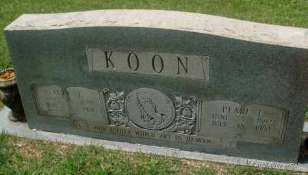KOON, PEARL T - Grant County, Arkansas | PEARL T KOON - Arkansas Gravestone Photos