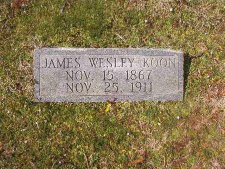 KOON, JAMES WESLEY - Grant County, Arkansas | JAMES WESLEY KOON - Arkansas Gravestone Photos