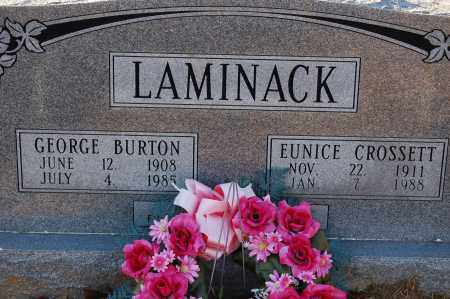 LAMINACK, GEORGE BURTON - Grant County, Arkansas | GEORGE BURTON LAMINACK - Arkansas Gravestone Photos