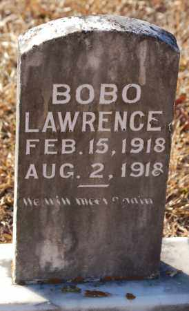 LAWRENCE, BOBO - Grant County, Arkansas | BOBO LAWRENCE - Arkansas Gravestone Photos