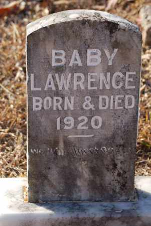 LAWRENCE, BABY - Grant County, Arkansas | BABY LAWRENCE - Arkansas Gravestone Photos