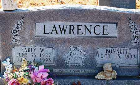 LAWRENCE, EARLY W - Grant County, Arkansas | EARLY W LAWRENCE - Arkansas Gravestone Photos