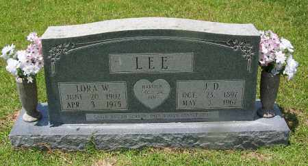 LEE, J D - Grant County, Arkansas | J D LEE - Arkansas Gravestone Photos