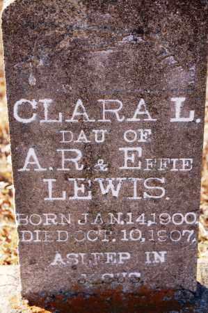 LEWIS, CLARA - Grant County, Arkansas   CLARA LEWIS - Arkansas Gravestone Photos