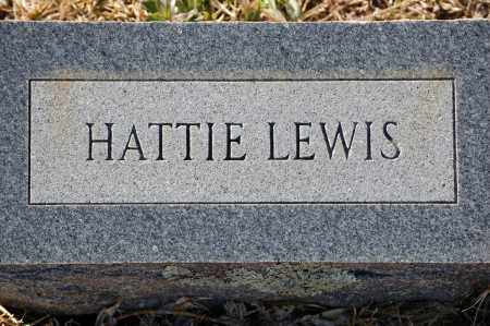 LEWIS, HATTIE - Grant County, Arkansas | HATTIE LEWIS - Arkansas Gravestone Photos