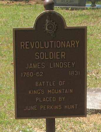 LINDSEY (VETERAN RW), JAMES (CLOSEUP) - Grant County, Arkansas | JAMES (CLOSEUP) LINDSEY (VETERAN RW) - Arkansas Gravestone Photos