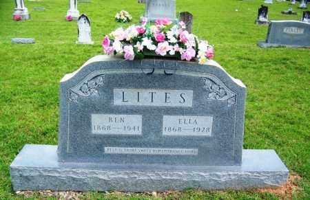 LITES, SARAH ELLA MCCLELLAN - Grant County, Arkansas | SARAH ELLA MCCLELLAN LITES - Arkansas Gravestone Photos