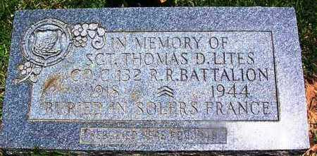LITES (VETERAN), THOMAS D - Grant County, Arkansas | THOMAS D LITES (VETERAN) - Arkansas Gravestone Photos