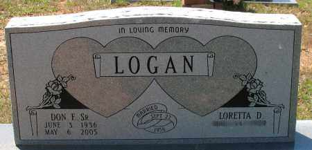 LOGAN, SR., DONALD FRANKLIN - Grant County, Arkansas | DONALD FRANKLIN LOGAN, SR. - Arkansas Gravestone Photos