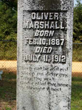 MARSHALL, OLIVER - Grant County, Arkansas | OLIVER MARSHALL - Arkansas Gravestone Photos